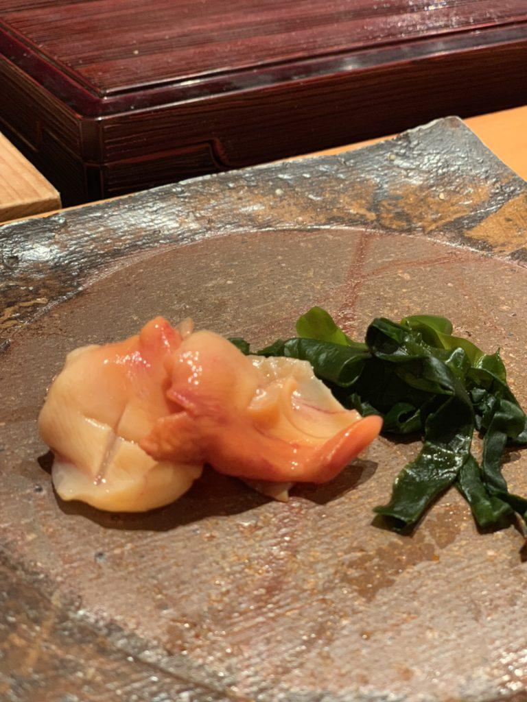 鮨処まる 赤貝