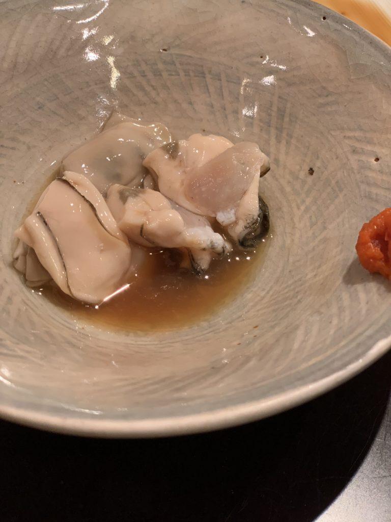 鮨処まる 酢牡蠣