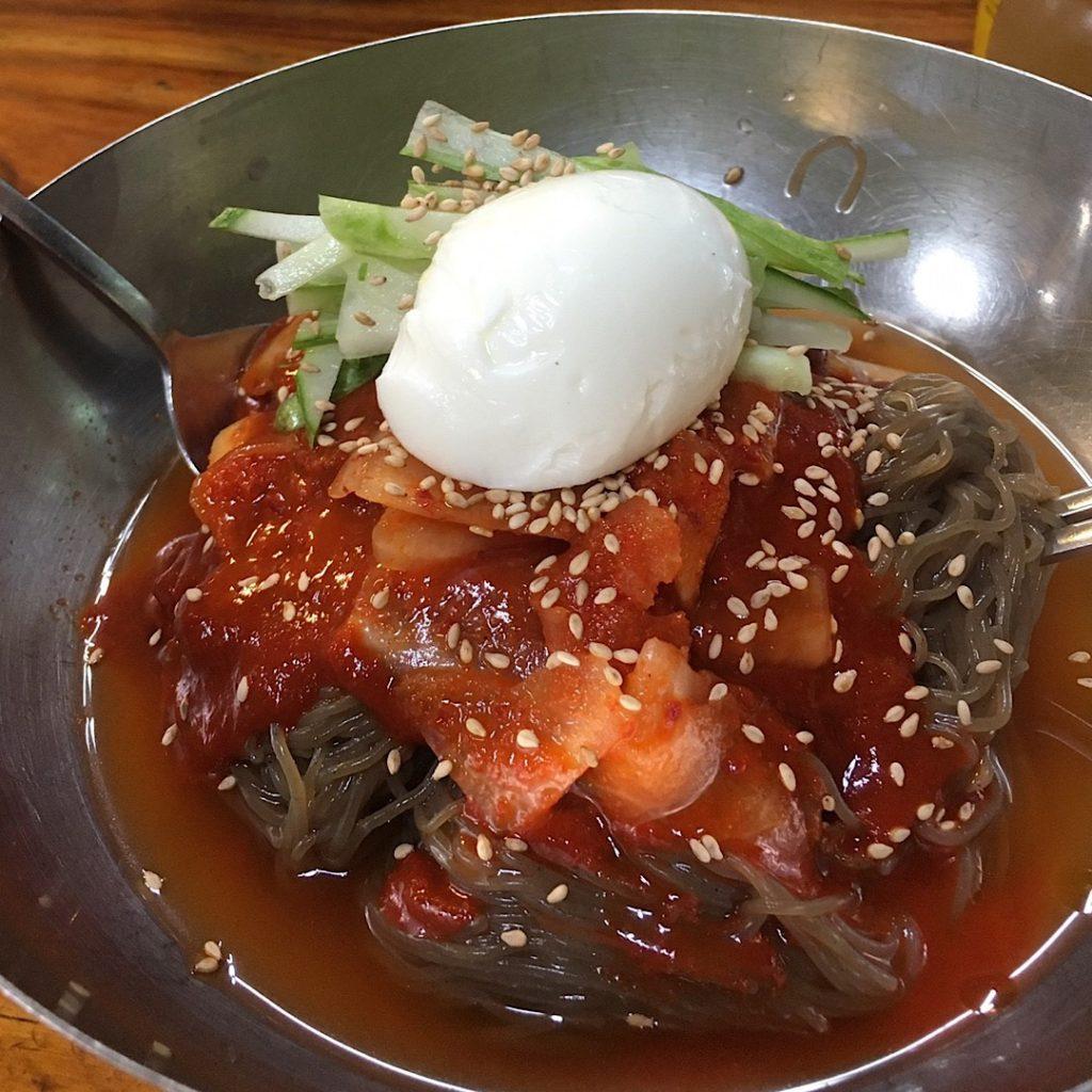 街の冷麺やで食べた冷麺が激ウマ!!